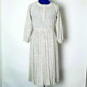 Vintage 1970's Pleated Dress